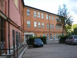 L'ingresso delle aule di Villa Sciarra, sede delle lezioni