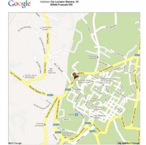 Via Luciano Manara, 10_B, Frascati, RM - Google Maps