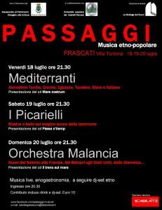 Passaggi a Frascati 2014
